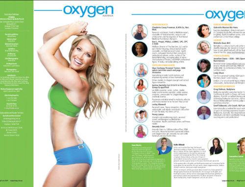 Oxygen Magazine Cover May/June 2015